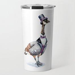 Victorian Gentleman Goose Travel Mug