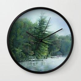 Sixth Lake Wall Clock