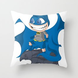 Watching the city too Throw Pillow