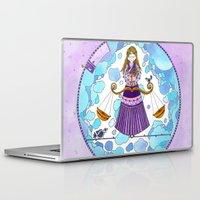 libra Laptop & iPad Skins featuring Libra by Sandra Nascimento