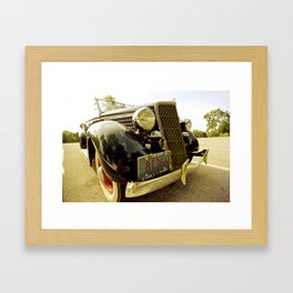 1939 Ford Phaeton Framed Art Print