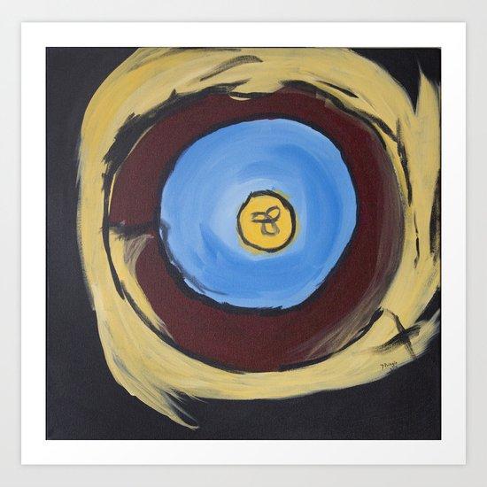 Kara's Mandala Art Print
