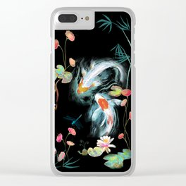 Japanese Water Garden Clear iPhone Case