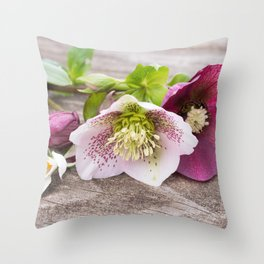 Gifts from the Garden Throw Pillow
