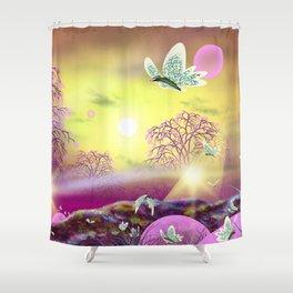 Profound Presence Shower Curtain