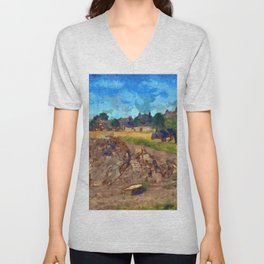 Luca On The Links Unisex V-Neck