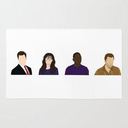 TV Characters Rug