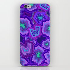Radiant Orchid Agate iPhone & iPod Skin