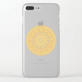 Mandala 13 / 1 yellow Citrine Clear iPhone Case