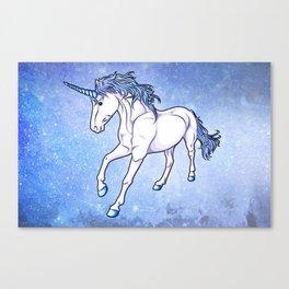 The Unicorn Colored Canvas Print