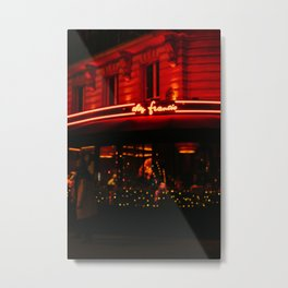 Paris Out of Focus II Metal Print