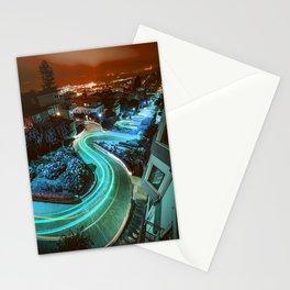 Blue Lombard Street San Francisco Stationery Cards