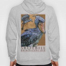Shoebill Bird Hoody