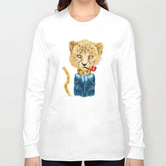 Cheetah Sailor Long Sleeve T-shirt