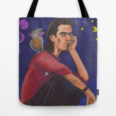 Nick On The Roof Tote Bag