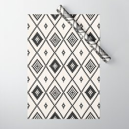 Salah in Black and White Wrapping Paper