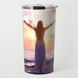 Let the Warmth In  Travel Mug