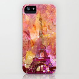 If you love Paris iPhone Case