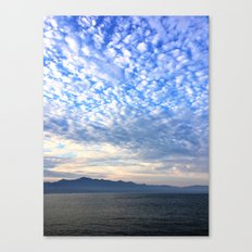 Clouds Dispensing Canvas Print