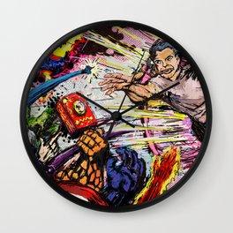 Art Print: Jack Kirby Creates the Universe Wall Clock