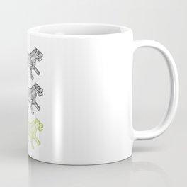 Three Tigers Coffee Mug