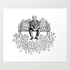 Them Birds - Pencil Part Art Print
