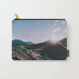 Glacial Meltwater Sunrise - Kenai Fjords National Park Carry-All Pouch