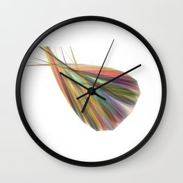 creative works of lines - the free spirit  (A7 B0096) Wall Clock