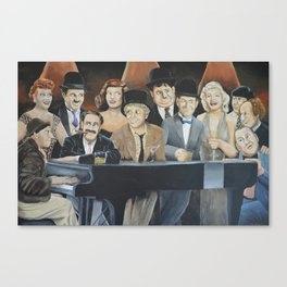 Classic Celebrities Canvas Print