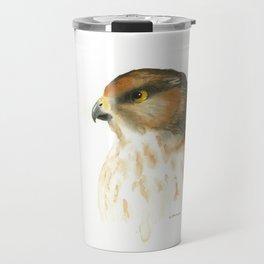 juvenile red-tailed hawk Travel Mug