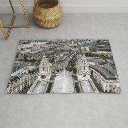 London Aerial View - United Kingdom Rug