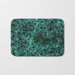 shattered marble Bath Mat