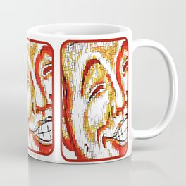 The Face of Mirth Coffee Mug