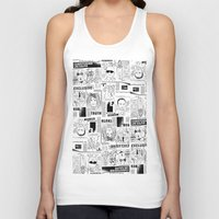 scandal Tank Tops featuring Scandal Pattern by CLSNYC