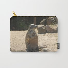 Seal Sitting On A Beach Carry-All Pouch