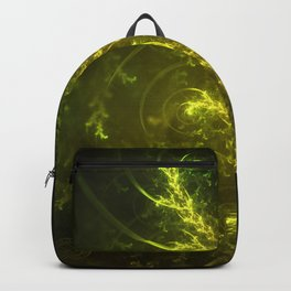 Magical Fractal Fairy Ferns in an Emerald Forest Backpack