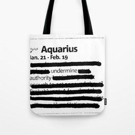 Aquarius 1 Tote Bag