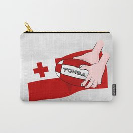 Tonga Rugby Flag Carry-All Pouch