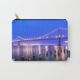 World Famous Oakland Bay Bridge San Francisco City California USA North America Ultra HD Carry-All Pouch