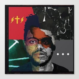 theweeknd Canvas Print