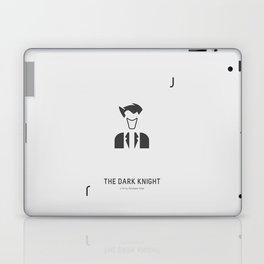 Flat Christopher Nolan movie poster: Dark K. Laptop & iPad Skin