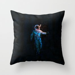 astronaut. breakthrough.  Throw Pillow