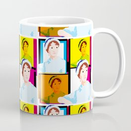 JANE AUSTEN - ENGLISH NOVELIST - COLOURFUL POP ART STYLE ILLUST Coffee Mug