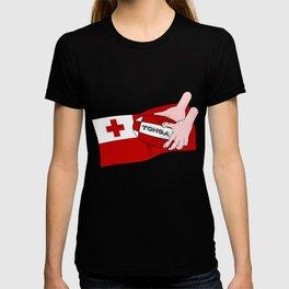 Tonga Rugby Flag T-shirt