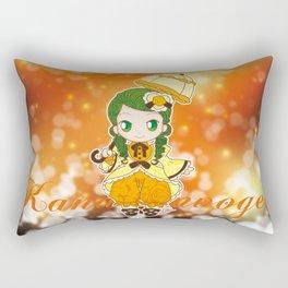 Chibi Canaria Rectangular Pillow