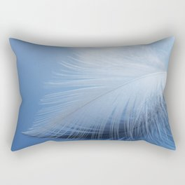 Feather in the clouds Rectangular Pillow