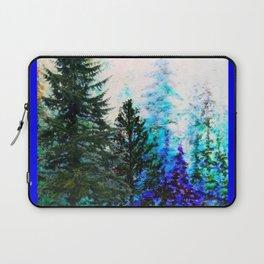 BLUE MOUNTAIN  PINE FOREST LANDSCAPE Laptop Sleeve