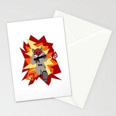 Fox Commando Stationery Cards
