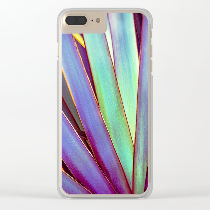 Fiesta Palm Clear iPhone Case