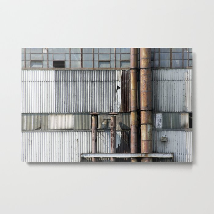 Warehouse Metal Print